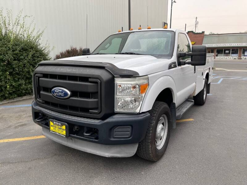 2011 Ford F-350 Super Duty for sale at DAVENPORT MOTOR COMPANY in Davenport WA