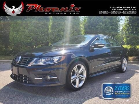 2014 Volkswagen CC for sale at Phoenix Motors Inc in Raleigh NC