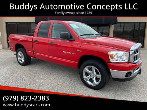 2007 Dodge Ram Pickup 1500 for sale at Buddys Automotive Concepts LLC in Bryan TX