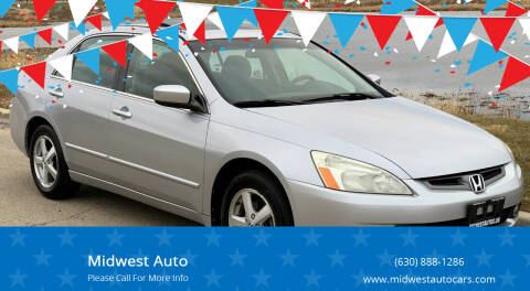 2005 Honda Accord for sale at Midwest Auto in Naperville IL