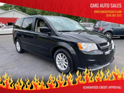 2013 Dodge Grand Caravan for sale at GMG AUTO SALES in Scranton PA
