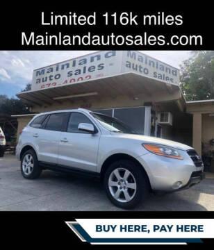 2008 Hyundai Santa Fe for sale at Mainland Auto Sales Inc in Daytona Beach FL