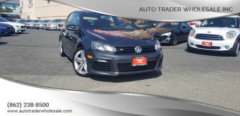 2012 Volkswagen Golf R for sale at Auto Trader Wholesale Inc in Saddle Brook NJ