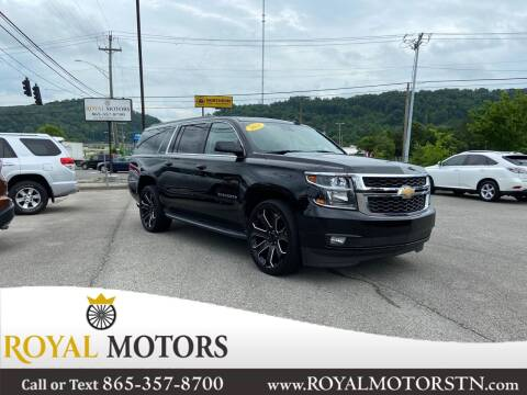 2016 Chevrolet Suburban for sale at ROYAL MOTORS LLC in Knoxville TN