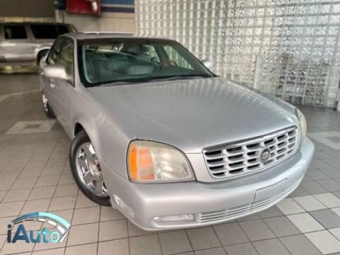 2001 Cadillac DeVille for sale at iAuto in Cincinnati OH