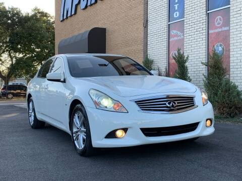 2015 Infiniti Q40 for sale at Auto Imports in Houston TX
