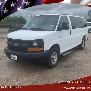 2016 Chevrolet Express Passenger for sale at Americas Trucks in Jones OK
