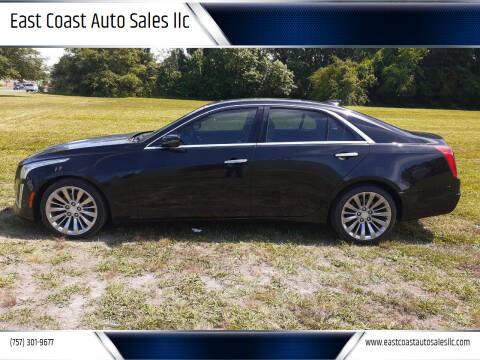 2016 Cadillac CTS for sale at East Coast Auto Sales llc in Virginia Beach VA