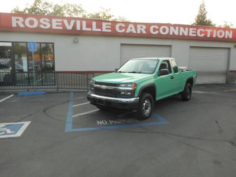 2008 Chevrolet Colorado for sale at ROSEVILLE CAR CONNECTION in Roseville CA