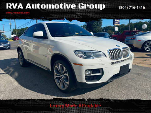 2013 BMW X6 for sale at RVA Automotive Group in Richmond VA