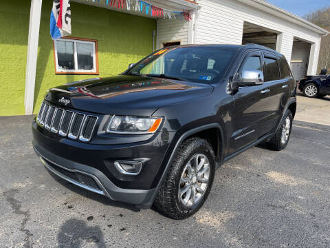 2014 Jeep Grand Cherokee for sale at PIONEER USED AUTOS & RV SALES in Lavalette WV