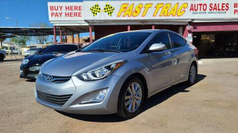 2016 Hyundai Elantra for sale at Fast Trac Auto Sales in Phoenix AZ
