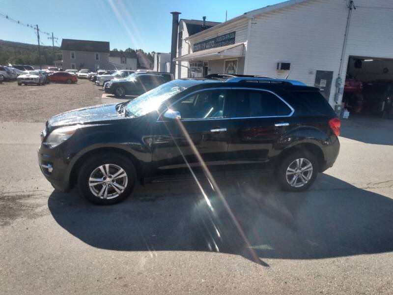 2012 Chevrolet Equinox for sale at ROUTE 119 AUTO SALES & SVC in Homer City PA