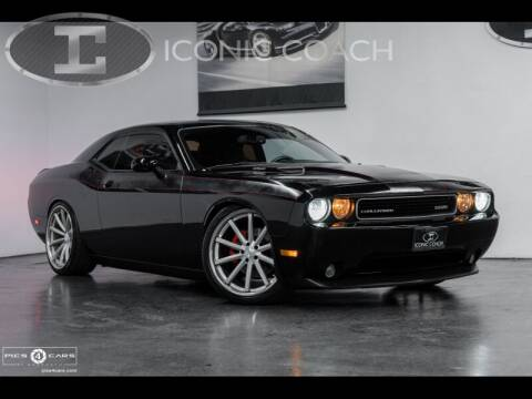 2014 Dodge Challenger for sale at Iconic Coach in San Diego CA