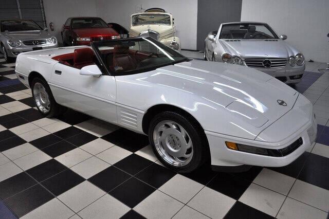 1991 Chevrolet Corvette for sale at Podium Auto Sales Inc in Pompano Beach FL