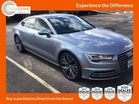 2016 Audi A7 for sale at Dallas Auto Finance in Dallas TX
