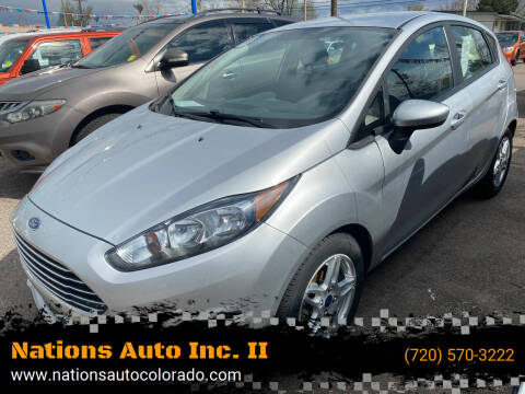 2018 Ford Fiesta for sale at Nations Auto Inc. II in Denver CO