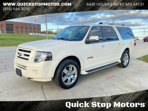 2007 Ford Expedition EL for sale at Quick Stop Motors in Kansas City MO