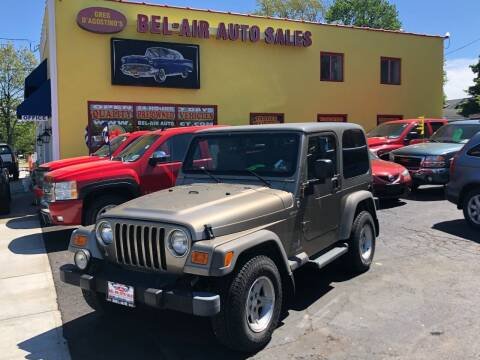 2005 Jeep Wrangler for sale at Bel Air Auto Sales in Milford CT
