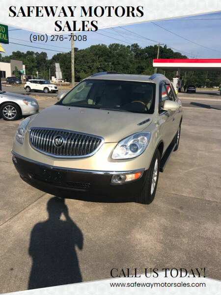 2008 Buick Enclave for sale at Safeway Motors Sales in Laurinburg NC