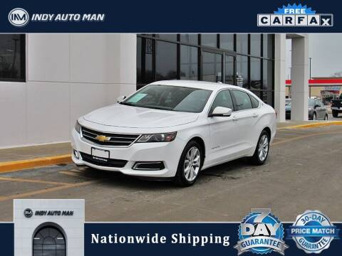 2017 Chevrolet Impala for sale at INDY AUTO MAN in Indianapolis IN