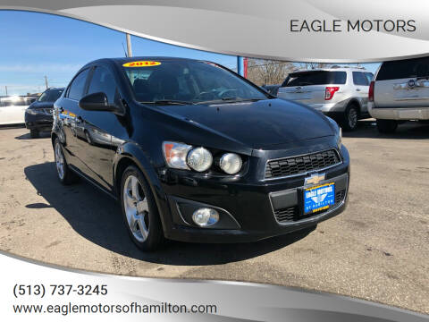 2012 Chevrolet Sonic for sale at Eagle Motors in Hamilton OH