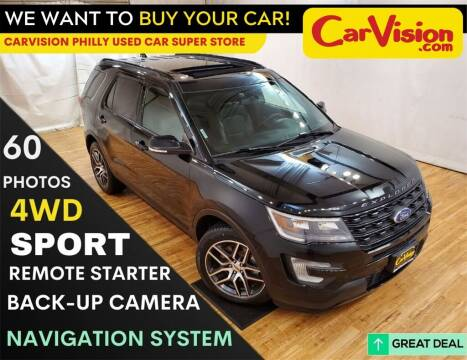 2017 Ford Explorer for sale at Car Vision Mitsubishi Norristown - Car Vision Philly Used Car SuperStore in Philadelphia PA