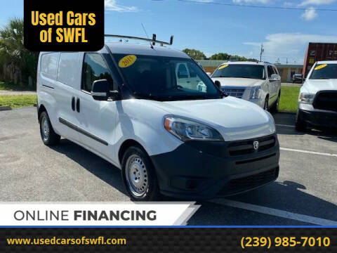 2015 RAM ProMaster City Cargo for sale at Used Cars of SWFL in Fort Myers FL