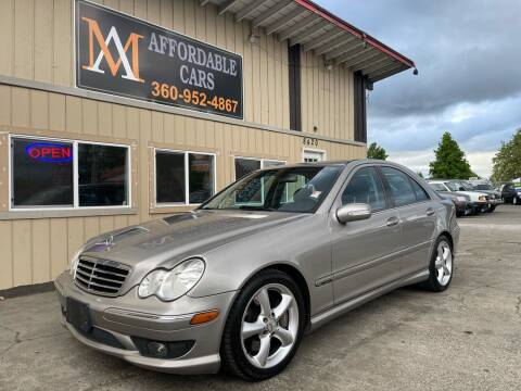 2005 Mercedes-Benz C-Class for sale at M & A Affordable Cars in Vancouver WA
