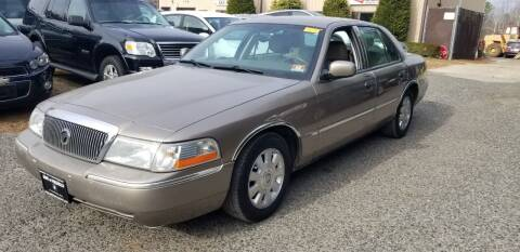 2004 Mercury Grand Marquis for sale at Central Jersey Auto Trading in Jackson NJ