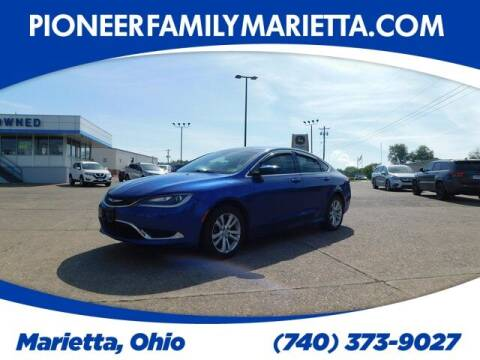 2015 Chrysler 200 for sale at Pioneer Family preowned autos in Williamstown WV