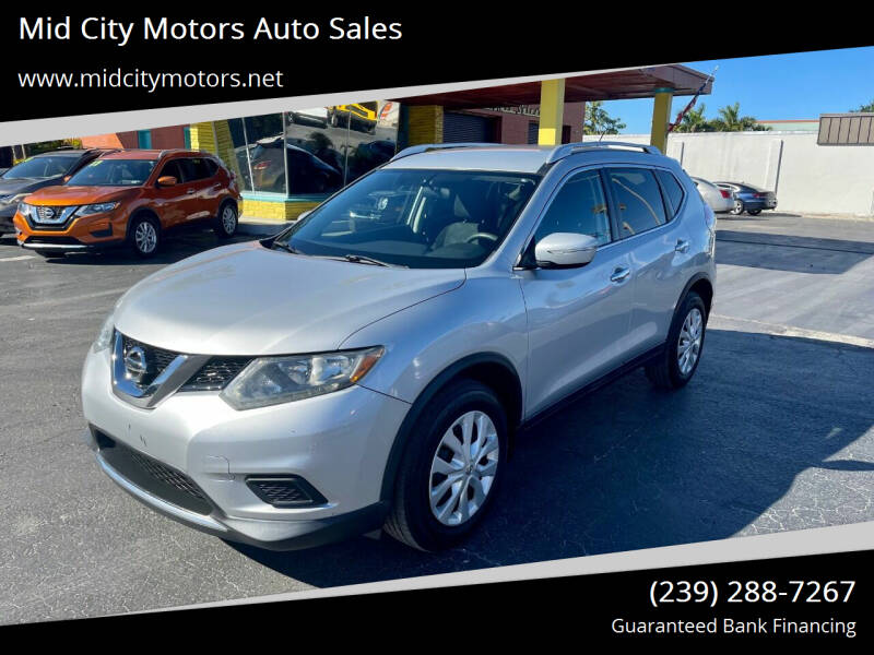 2015 Nissan Rogue for sale at Mid City Motors Auto Sales in Fort Myers FL