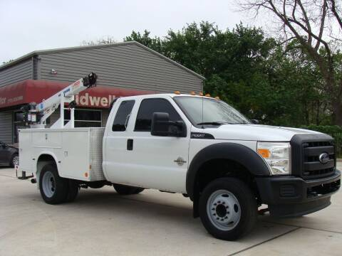 2012 Ford F-550 Super Duty for sale at TIDWELL MOTOR in Houston TX