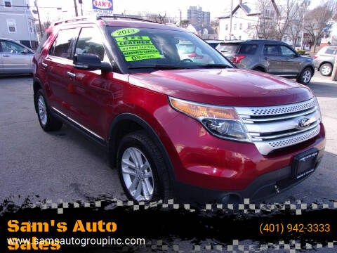 2013 Ford Explorer for sale at Sam's Auto Sales in Cranston RI