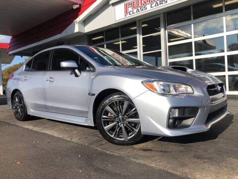 2017 Subaru WRX for sale at Furrst Class Cars LLC  - Independence Blvd. in Charlotte NC