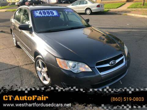 2009 Subaru Legacy for sale at CT AutoFair in West Hartford CT