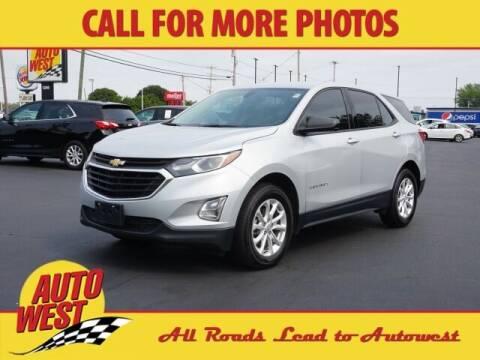 2018 Chevrolet Equinox for sale at Autowest Allegan in Allegan MI