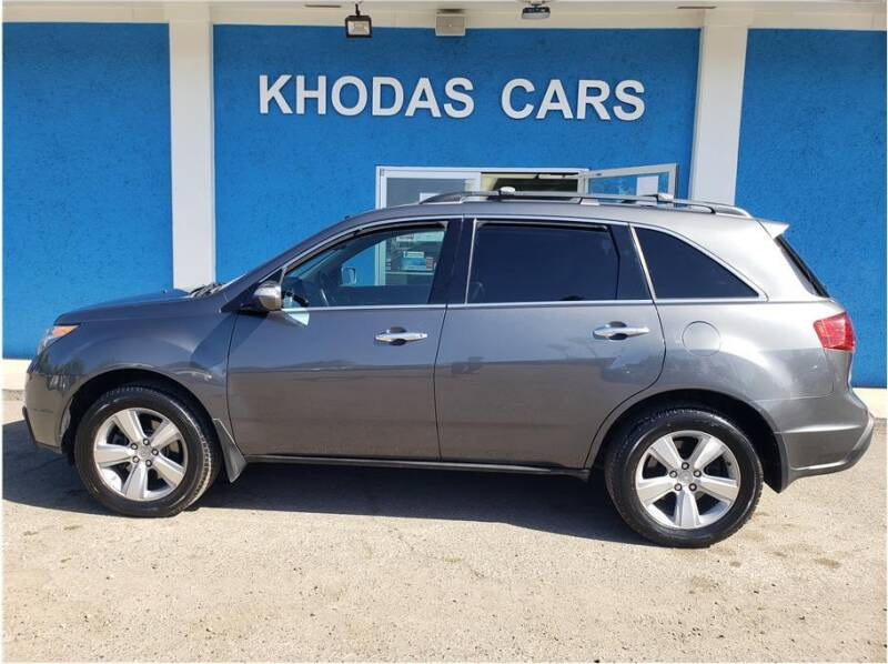 2011 Acura MDX for sale at Khodas Cars in Gilroy CA