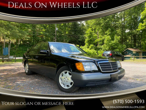 1992 Mercedes-Benz 500-Class for sale at Deals On Wheels LLC in Saylorsburg PA