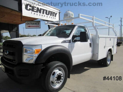2016 Ford F-550 Super Duty for sale at CENTURY TRUCKS & VANS in Grand Prairie TX