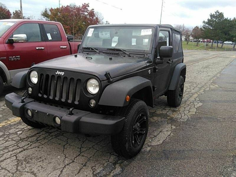 2018 Jeep Wrangler for sale at Great Lakes Classic Cars & Detail Shop in Hilton NY