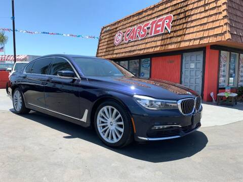 2016 BMW 7 Series for sale at CARSTER in Huntington Beach CA
