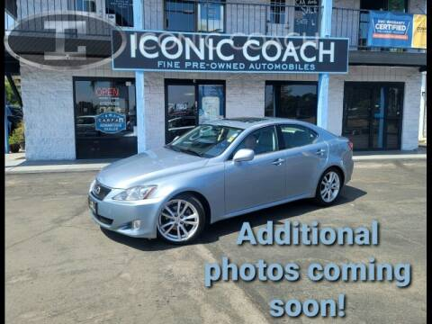 2006 Lexus IS 250 for sale at Iconic Coach in San Diego CA