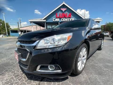 2016 Chevrolet Malibu Limited for sale at LUNA CAR CENTER in San Antonio TX