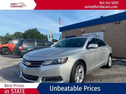 2014 Chevrolet Impala for sale at Sunny Florida Cars in Bradenton FL