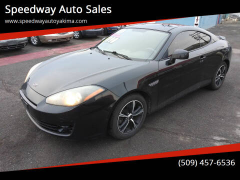 2008 Hyundai Tiburon for sale at Speedway Auto Sales in Yakima WA
