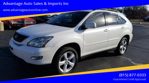 2005 Lexus RX 330 for sale at Advantage Auto Sales & Imports Inc in Loves Park IL