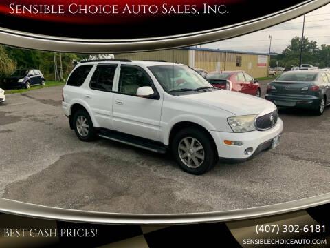 2004 Buick Rainier for sale at Sensible Choice Auto Sales, Inc. in Longwood FL