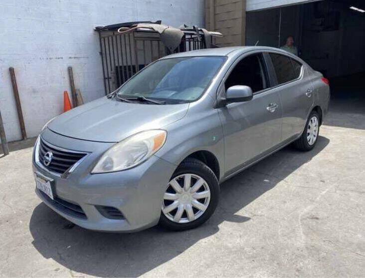 2012 Nissan Versa for sale at Aria Auto Sales in El Cajon CA