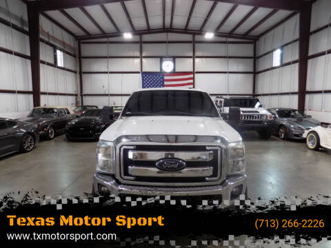 2014 Ford F-250 Super Duty for sale at Texas Motor Sport in Houston TX